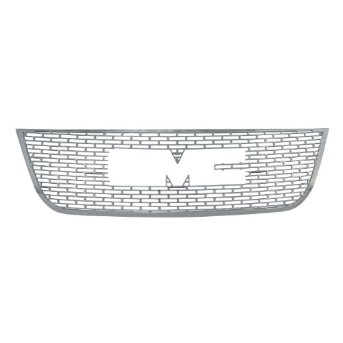 Bully  GI-51 Triple Chrome Plated ABS Snap-in Imposter Grille Overlay, 1 Piece