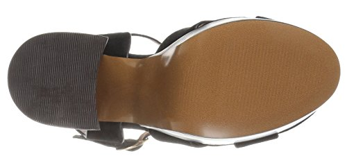 Lauren Women's Black Platform London Sandal 2 Shellys H1gBTqwEg
