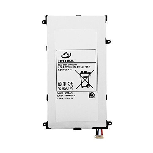 ANTIEE T4800E New Battery Replacement For Samsung Galaxy Tab Pro 8.4'' Tablet PC Notebook SM-T325 T320 T321 T4800C T4800K 4800mAh 3.8V by ANTIEE (Image #1)