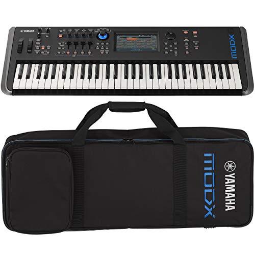 Yamaha MODX6 61-Key Synthesizer (With YSCMODX6 soft case)