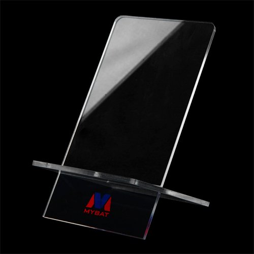 Cell Accessories For Less (TM) Clear Crystal Hard Phone Transparent Stand Desktop Smartphone Holder for Samsung Galaxy S Blaze 4G T769 Bundle (Stylus & Micro Cleaning Cloth) - By - Blaze The Mobile Site
