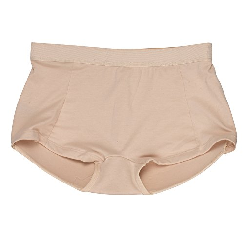 fb3dd75082e5 Inteco Intimates Womens Padded Butt Enhancer Boy Short Underwear, Cotton