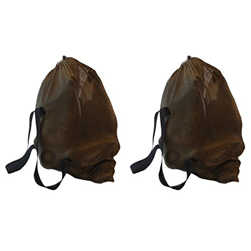 Geese Goose Decoy (DecoyPro Mesh Decoy Bags – 2 Decoy Bag Bundle – Duck Decoy Bag – Goose Decoy Bag - Turkey Decoy Bag)