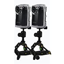 Brinno BCC200 Time-Lapse Camera Two-Pack Bundle w/Mount & Accessories - Best For Construction & Outdoor Security - 80 DAYS Battery Life, 720p HD, Weather Resistant Case - Batteries Included