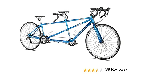 GIORDANO Viaggio Tandem para Bicicleta de Carretera, Unisex, Azul ...