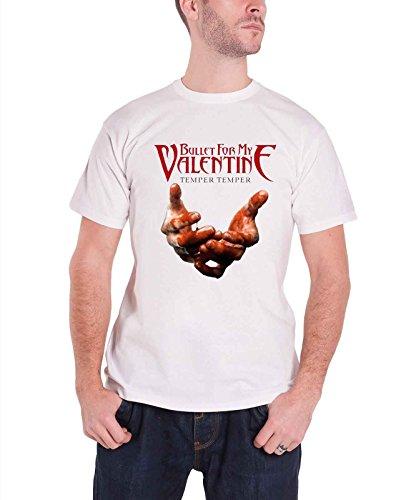Bravado Bullet For My Valentine - Blood Hands Men's T-shirt White X-large