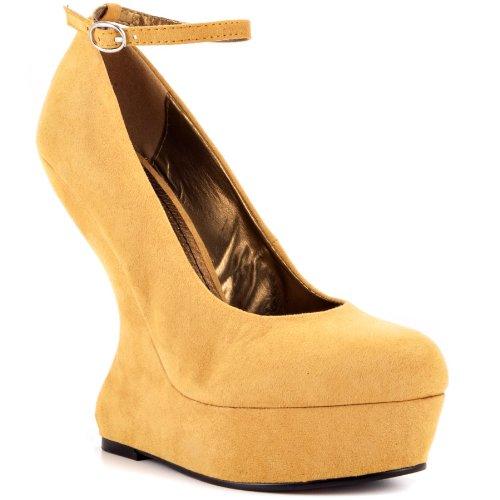 Luichiny Great LEE Wedge (6, Yellow)