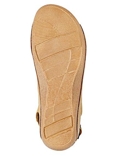 Ringende Damer Sandal Med Avanceret Loop-gul tYKFu