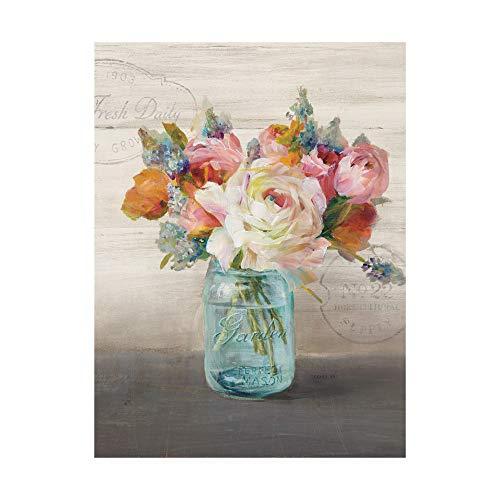 Trademark Fine Art French Cottage Bouquet II Crop