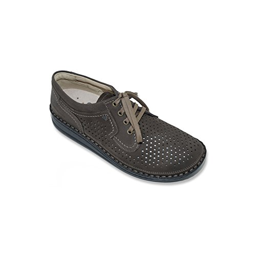 Finn Comfort Mens Baden Casual Lace-up Marrone
