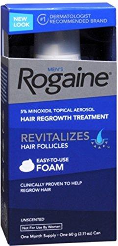 Rogaine Men's Easy-To-Use Foam 2.11 oz (10 Pack)