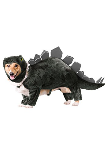 Animal Planet PET20105 Stegosaurus Dog Costume, -