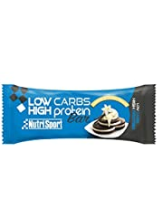 Nutrisport Low Carbs High Protein Bar 16 x 60g Vainilla & Cookie