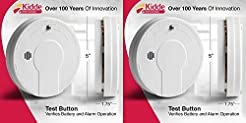 Kidde Smoke Detector Alarm | Battery Ope...