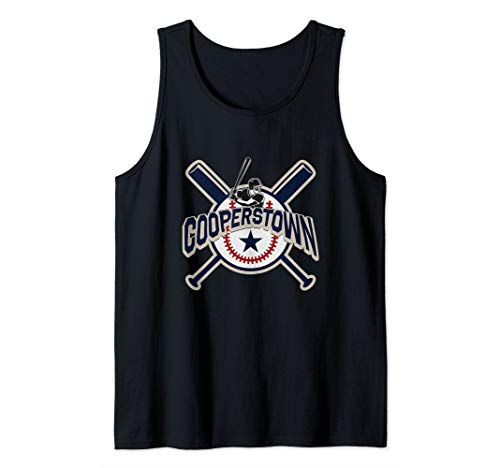 Cooperstown New York Baseball Game Family Vacation Tank Top