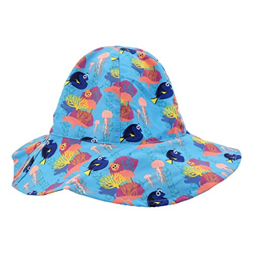 (Nemo Bucket Hat - Toddler UPF 50 for Outdoors, Sun, Beach, and Pool Breathable - Finding Nemo)