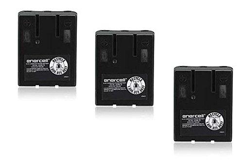Enercell 3.6V/700mAh Cordless Phone Battery (23-935) - Bulk Lot of 3 Batteries
