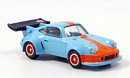 Porsche 911 Carrera RSR turbo 2.1, azul claro/anaranjado, Techno Classica 2007,