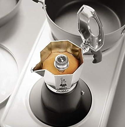 Bialetti - Cafetera espresso, acero inoxidable, plata, 2-Cup: Amazon.es: Hogar