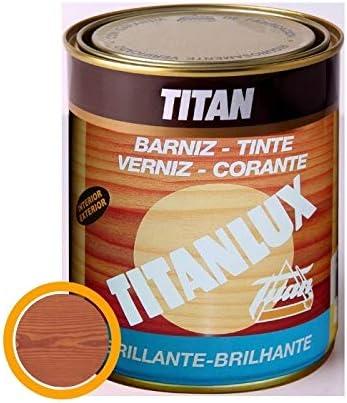 Titanlux M41908 - Barniz tinte brillante para madera 125ml ...