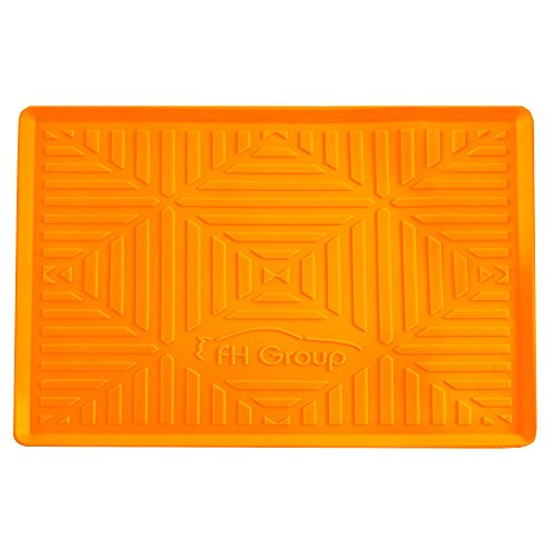 FH Group FH3011ORANGE Orange Silicone Anti-slip Dash Mat (for Smartphones IPhone Plus Galaxy Note Coin Grip - Eco Shelby Friendly