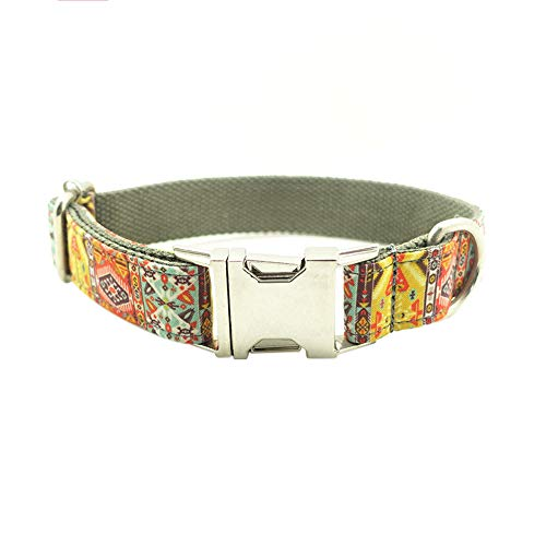 Wanpako Unique Style Pet Dog Collar Soft&Comfy Collars Adjustable Dog Collar Bowtie XS-XL Multiple Styles & Sizes (E-XL) ()