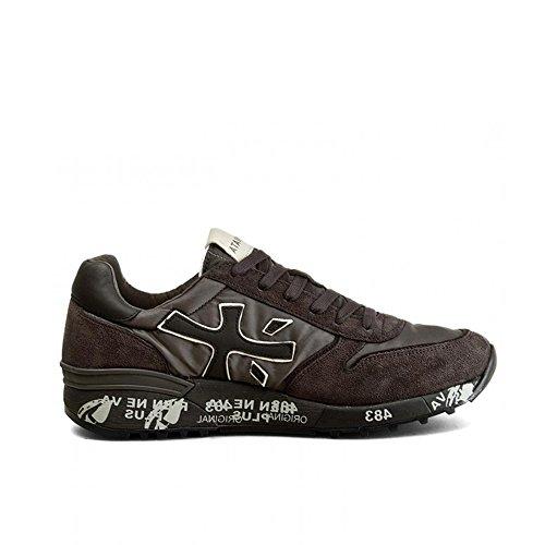 Premiata Sneakers Uomo MICK1786 Tessuto Grigio/Nero