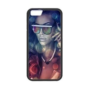 iPhone 6 4.7 Inch Cell Phone Case Black Girls glasses JSK771711