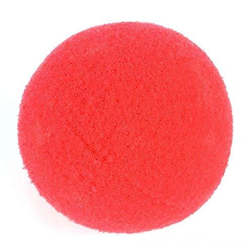 Rhode Island Novelty - 2 Inch Foam Clown Nose, Red, Pack of 36