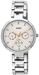 Timex Women's Analog Silver Dial Watch