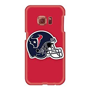 Shock-Absorbing Hard Phone Covers For Samsung Galaxy S6 With Unique Design Fashion Houston Texans 2 Series RandileeStewart