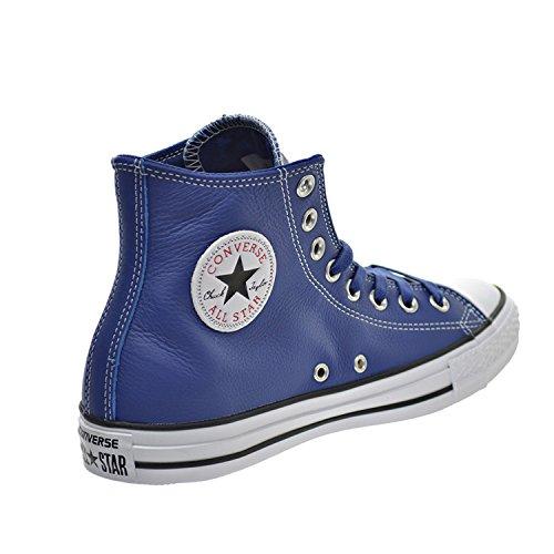 Converse Chuck Taylor All Star Hi Scarpe Unisex Blu / Casinò / Bianco 153813c