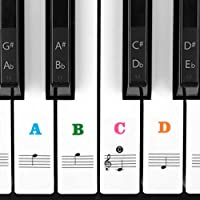 Piano Stickers for Keys, Syviva Piano Keyboard Stickers...