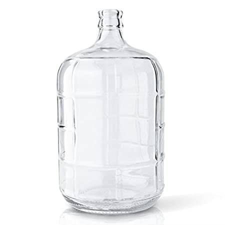 Amazon.com: 3 galones vidrio italiano Carboy con cuello de ...