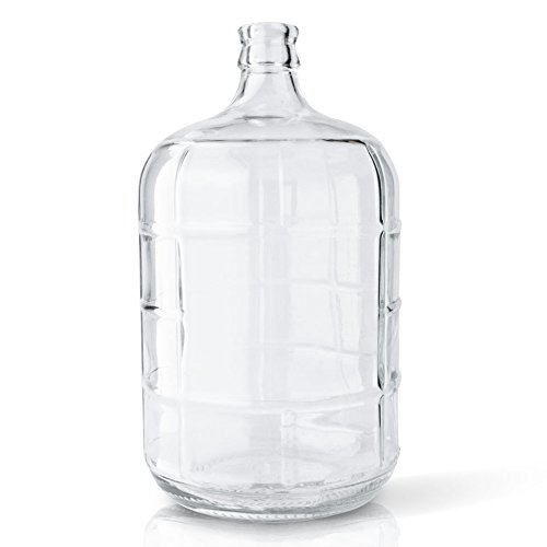 3 Gallon Italian Glass Carboy with Cork Neck Finish - Individually Sold