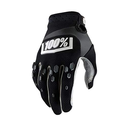 Balight Riding Tribe Touch Screen Motorcycle Gloves Breathable Protective Gear Bicycle Racing Non-Skid Guards Summer Glove Black Green MCS-17