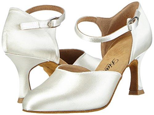 Salon Chaussures Pour Blanc 092 Danse De 051 Standard Tanzschuhe 085 Brautschuhe Diamants Femme qtadnwgcBd