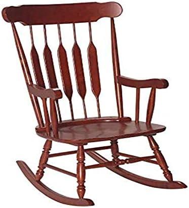 Gift Mark 1233-3800C Giftmark Adult Rocking Chair-Cherry