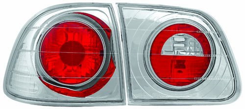 IPCW CWT-733C4 Crystal Eyes Crystal Clear Tail Lamp Set