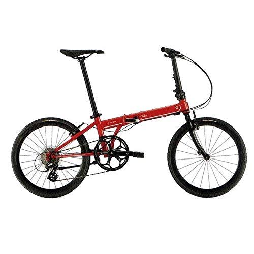 DAHON(ダホン) 折りたたみ自転車 Speed Falco フラッシュレッド フラッシュレッド   B07GJQZ61P