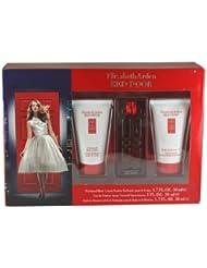 Elizabeth Arden Red Door 3 Piece Gift Set for Women with Eau De Toilette Spray, Perfumed Body Lotion and Shower Gel