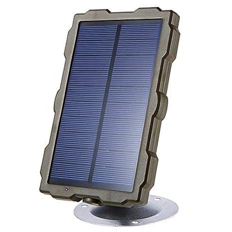 Liseng CáMara de Caza Al Aire Libre BateríA Panel Solar ...