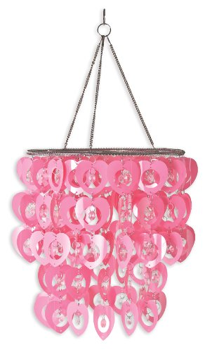 Ready Room - Wall Pops WPC96861 Ready-to-Hang Bling Chandelier, Cupid