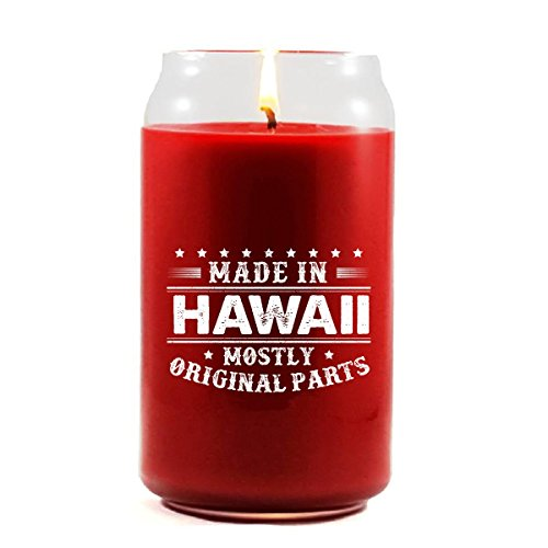 Made In HAWAII Mostly Original Parts Disability - Scented Candle by Brands Banned