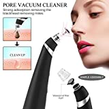 Deep Blackhead Removal NewLifeStore Electronic Rechargeable Vacuum Extraction Facial Pore Cleanser Blackhead Acne Comedone Suction Remover Tool Black