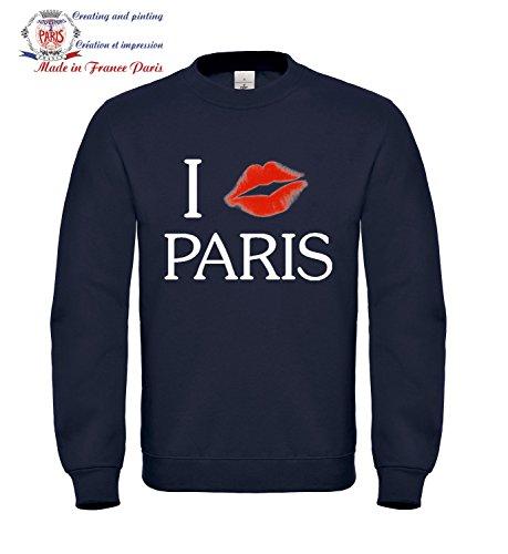 Sweat shirt Femme taille M Bleu - i bizous Paris