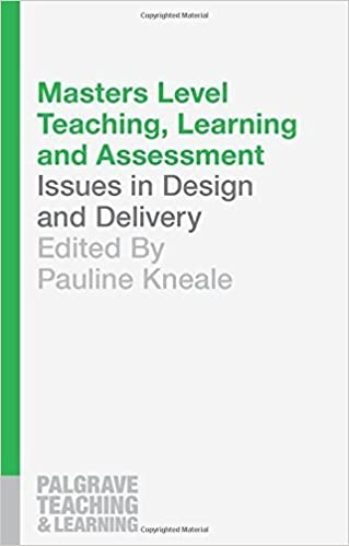 Book Masters Level Teaching, Learning and Assessment (Palgrave Teaching and Learning) by Pauline Kneale (2015-09-25)