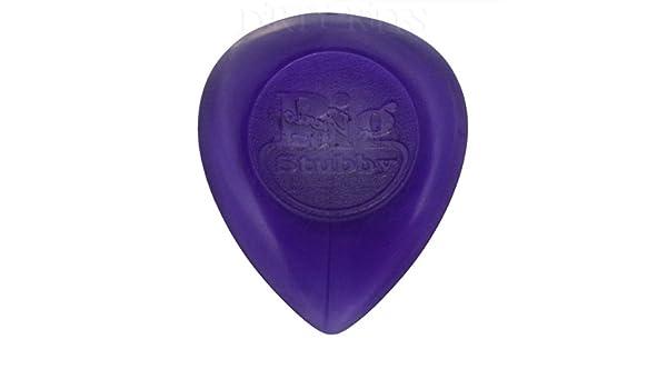 Púas y portapúas 3,00 mm morado en estuche de metal 24 x Dunlop Big Stubby Púas para guitarra presentadas/púas Púas