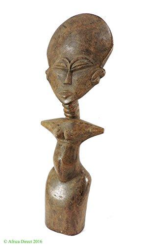 Ashanti Akua'ba Fertility Doll Ghana African Art 18 Inch ()