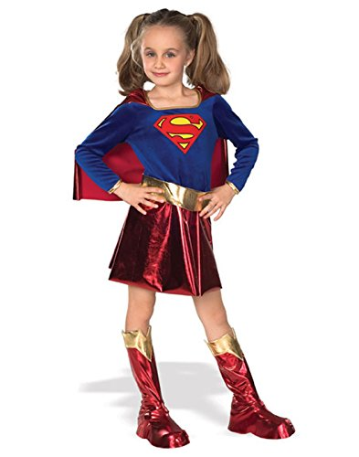 Fantasy Costumes 2016 (DC Super Heroes Child's Supergirl Costume, Small)